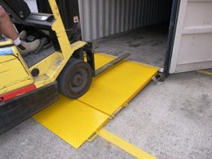 Picture of 8 Tonne Forklift Container Ramp