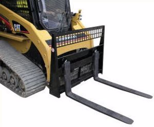 Picture of Fork Carriage Assembly Forks Included 1200kg Skid Steer Attachment