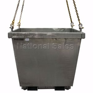 Picture of Crane Bin 0.85m3 Zinc