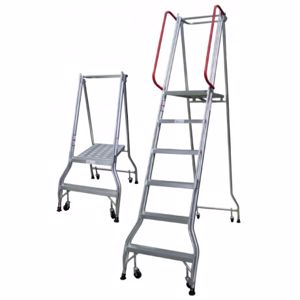 Picture of 6 Steps Monstar Industrial Ladder 1690mm Platform Height
