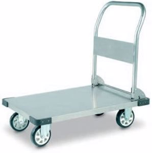 Picture of Stainless Steel Flatbed Trolley 350Kg Capacity