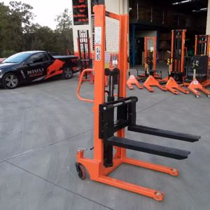 Picture of Manual Narrow Pallet Stacker 1Ton 1.6m