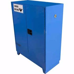 Picture of 160 Litre Corrosive Safety Cabinet 2 Doors and 2 Shelves