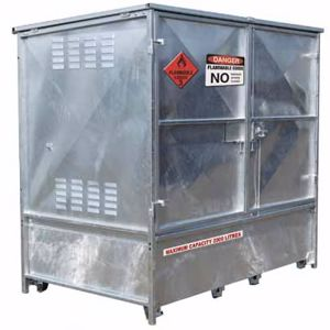 Picture of Metal Dangerous Goods Storage 2000 Litre Capacity