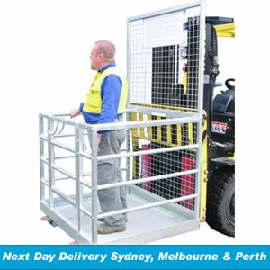 Picture of Forklift Safety Cage - inc Anchor Points