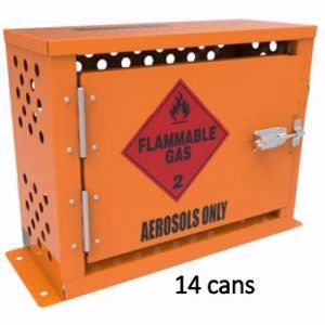 Picture of 14 Can Aerosol Storage Cage Ext 405x505x205mm