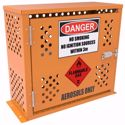 Picture of Aerosol Storage Cabinet 80 Cans 2 Shelf