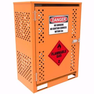 Picture of Gas Cylinder Storage cage for 2 x Forklift Cylinders