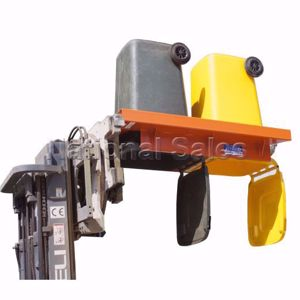 Picture of Double Wheelie Bin Tipper Frame for Rotator