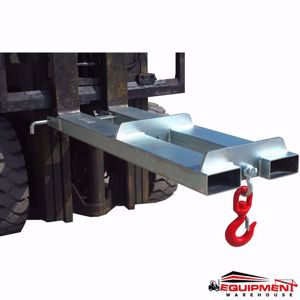 Picture of Budget Fixed Forklift Jib 2500Kg Zinc